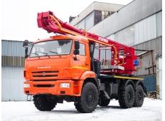 Автовышка КАМАЗ 54115-15
